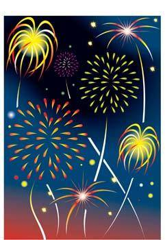 free vector Celebration and Firework 4
