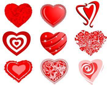 free vector Heart vector 19
