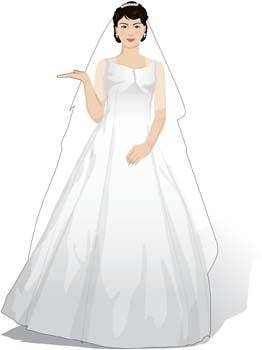 free vector Bride 1