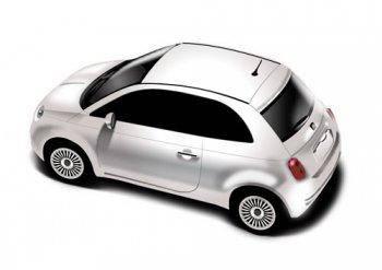 free vector Fiat 500 vector