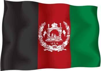 free vector Afghanistan Flag Vector