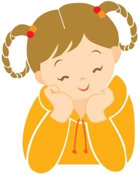 free vector Little Girl 17