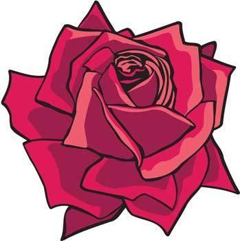 free vector Rose Flower Vetor 2