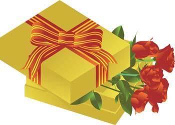 Present Flower Vector 14