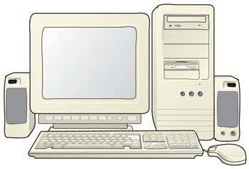 Dekstop computer vector 31