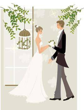 free vector Bride 11
