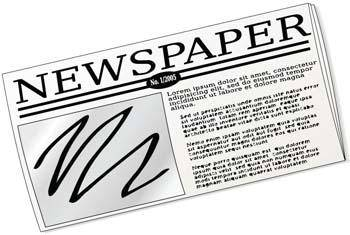 free vector Newspaper