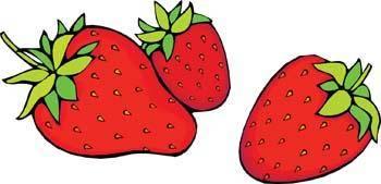 free vector Strawberry 5