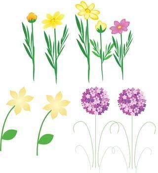 free vector Flo Flower 17