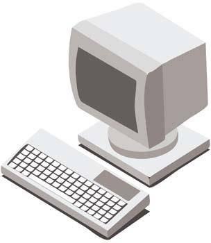 free vector Dekstop computer vector 27