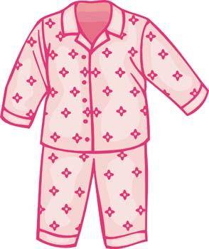 free vector Childs Pajamas