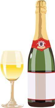 Champagne for celebration vector 7