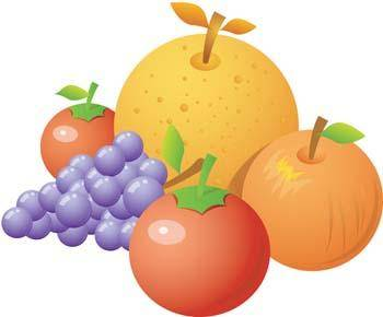 free vector Fruits Vector 1