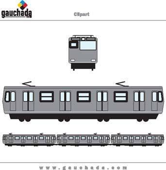 free vector Train 3