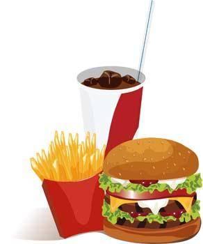 free vector Bigmac hamburger 2