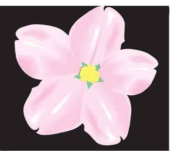 free vector Button Flower Vector 6