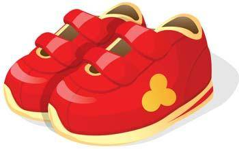 free vector Childs shoes 8
