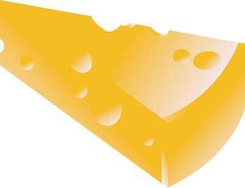 free vector Slice of cheese 2