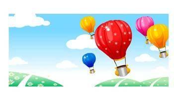 free vector Aerial Balloon 1
