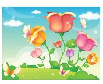free vector Rose Flower Vetor 40