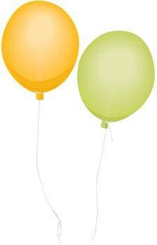 free vector Balloon Celebration 4