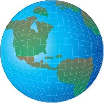 Globe Vector 8 123615