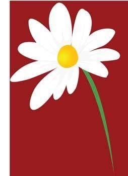 free vector Romashka daisy Flower 7