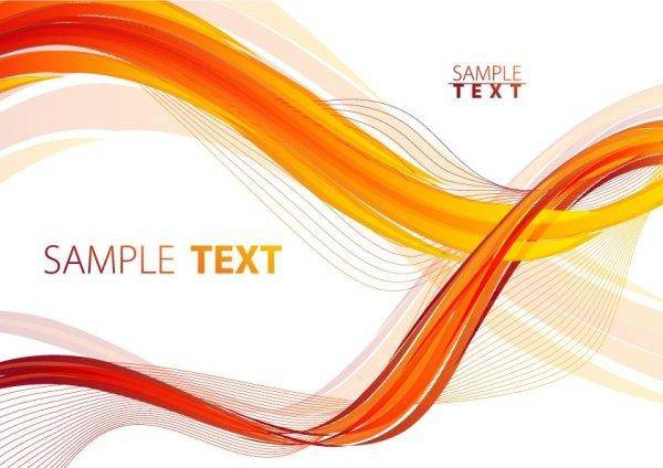free vector Flow Curves Text Box Vector Material -1 Curve Line Mobile