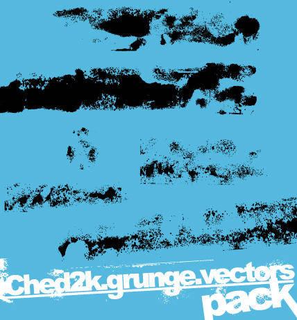 free vector Ched2k Grunge Vectors Grunge Vector Vector Splats