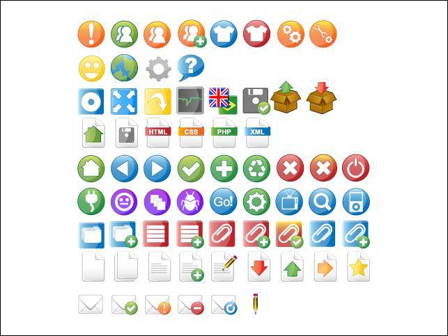 Kameo Icon Set Kameo Icon Set