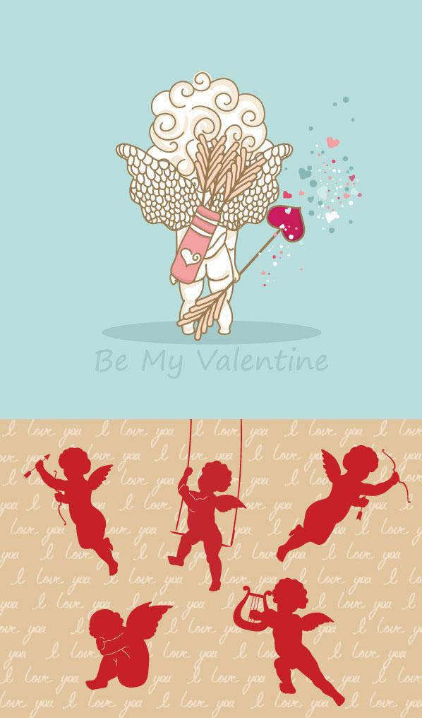 ++Cupid Vector Material++ Venus Cupid Love