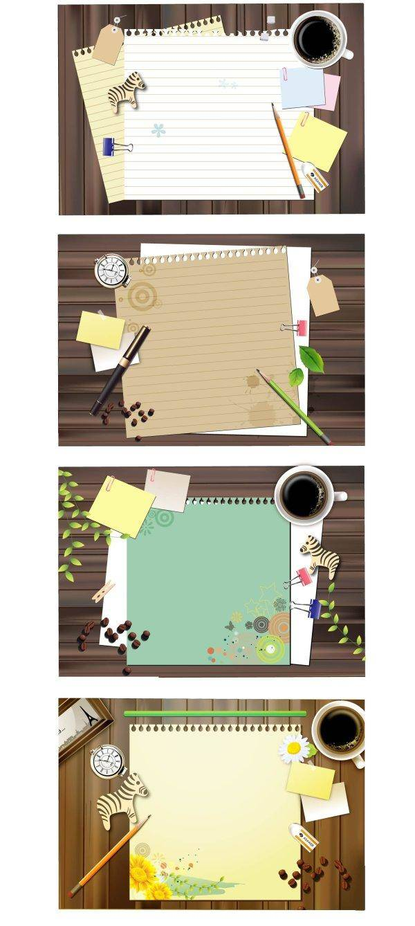 free vector Notebook Paper Notebook