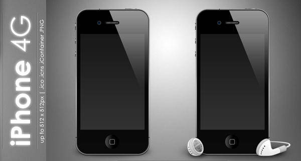 free vector IPhone 4G Icon Iphone 4g Icon Iphone Icons
