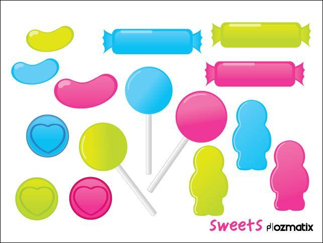 free vector Sweets Sweets