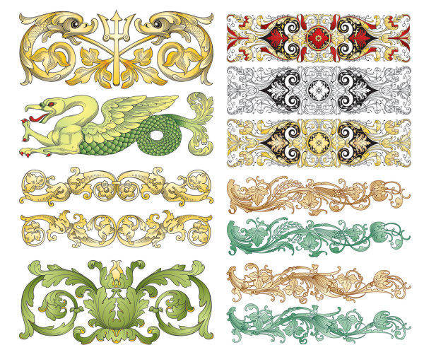 free vector Vector Chinese Classical Patterns Vector Chinese