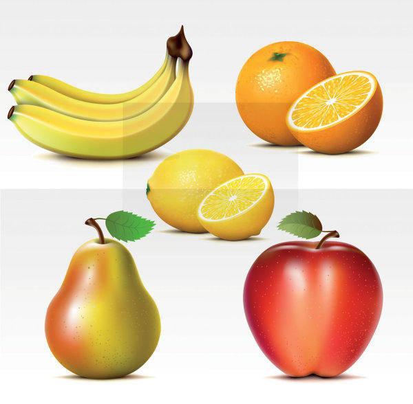 free vector Vector Fresh Fruit Vector