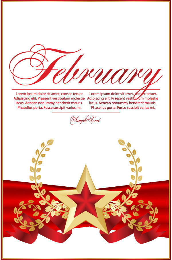 free vector Red Five-pointed Star Bookmarks 02 Red Bookmarks