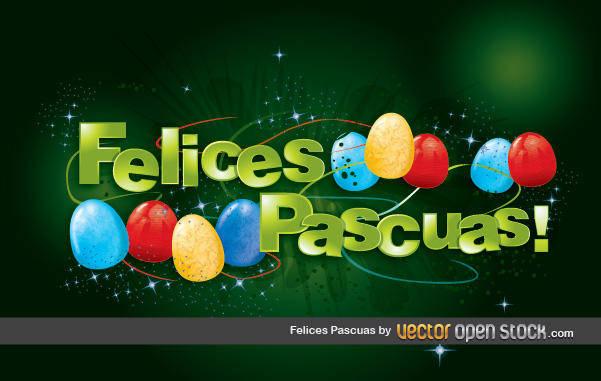 free vector Felices Pascuas Felices Pascuas Huevos