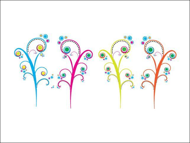 free vector Colorful Swirls Colorful Swirls