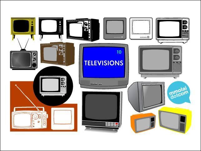 free vector Vector Televisions Vector Televisions