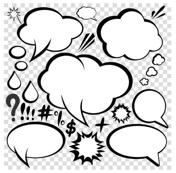 Comic-style Dialog Box 03 - Vector Comic-style Vector