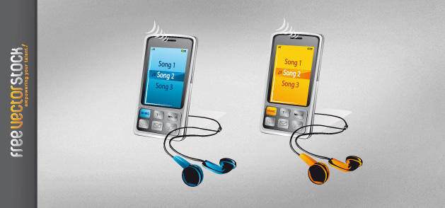 Classy Smartphone Free Vector