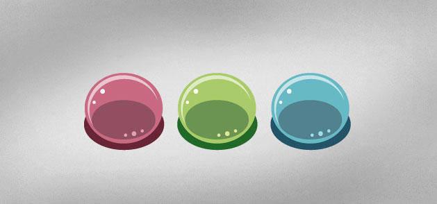 Goofy Bubbles Vector
