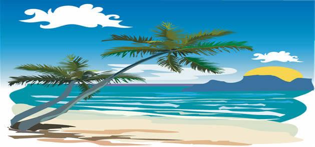 free vector Beach Vector Art