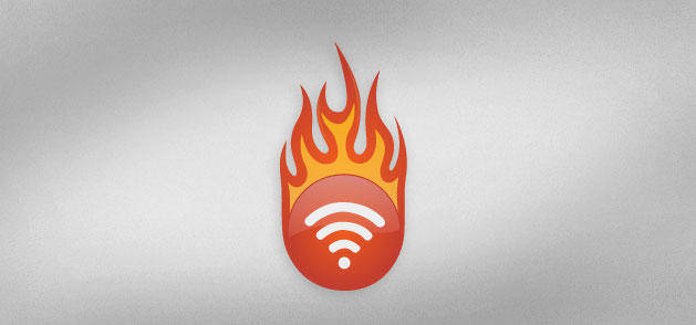 RSS Flames Icon