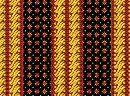 free vector Indonesia Batik