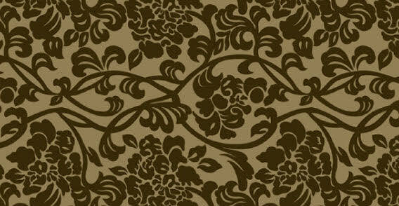 Brown pattern wallpaper