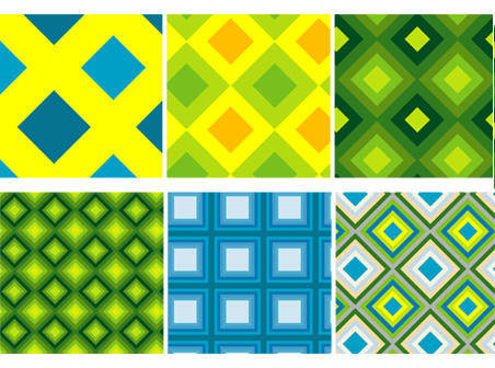 free vector Seamless Patterns