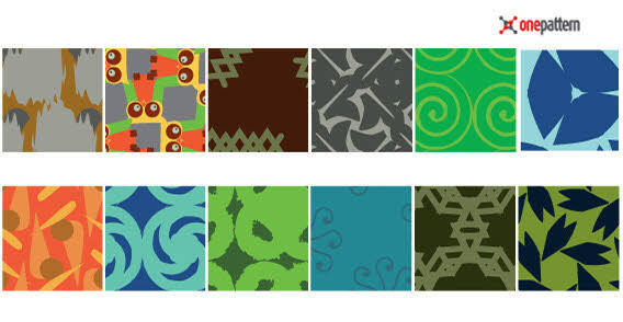Seamless different theme patterns