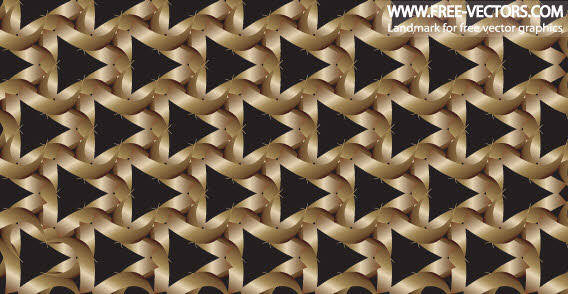 Free pattern triangle background